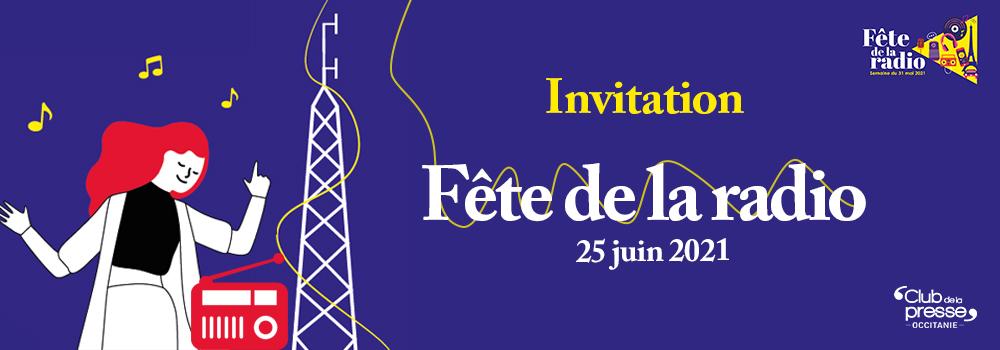 Invitation : Fête de la radio le 25 juin à Muret